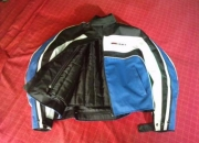 VENDO CHAQUETA DE MOTO ON BRAIN AZUL Y NEGRA
