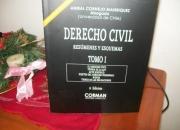 DERECHO CIVIL. RESÚMENES Y ESQUEMAS. COLECCIÓN 2 TOMOS, EDIC, 2012